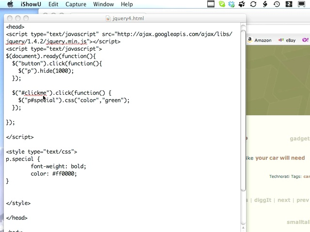 JQuery and CSS