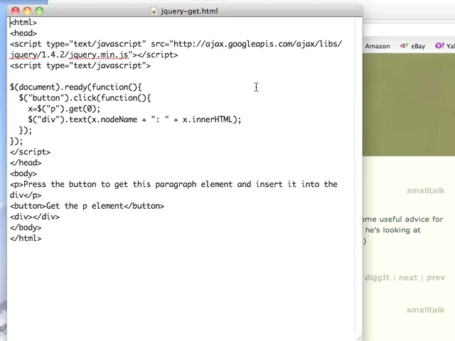JQuery get function