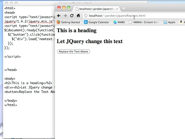 JQuery load()