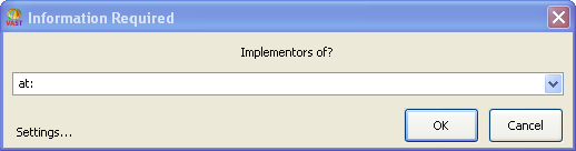 Browsing Implementors